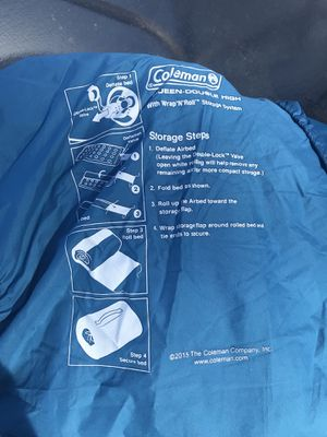 Coleman Queen Double High Air mattress for Sale in Gresham, OR
