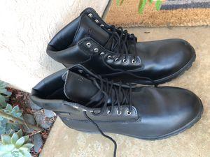 Men's DEXTER Waterproof Black work Boots Size 15W for Sale in Carlsbad, CA