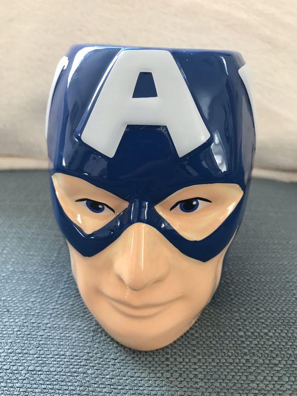 Spiderman & Captain America mugs - 20 fl oz