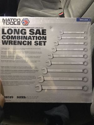 Matco Wrench Set for Sale in Portland, OR