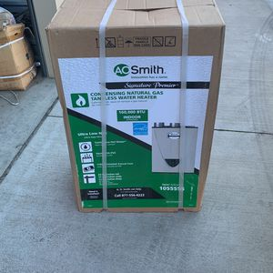 A O. Smith 1055555 Tankless Water Heater/Boiler - Beige NEW in Box GT15-240-NI for Sale in Tracy, CA