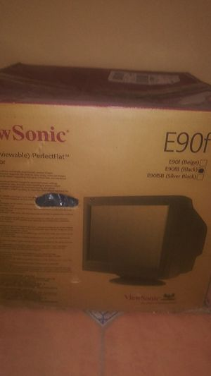 View Sonic E90F Monitor new for Sale in McAllen, TX