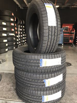225/65/17 New set of Goodyear tires installed for Sale in Rancho Cucamonga, CA