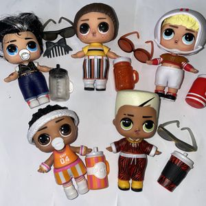 Lol Dolls Boys Series Lot Of 5 for Sale in Boring, OR
