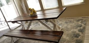 Dining table and bench for Sale in Mesa, AZ