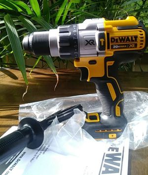 1/6 DeWalt DCD996 20V Max XR Brushless 3-Speed Cordless 1/2 Hammer Drill 20 for Sale in Downey, CA