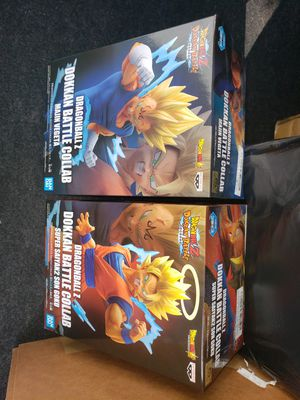Dragonball z figures (goku vegeta) for Sale in Los Angeles, CA