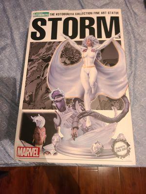 Kotobukiya Marvel Fine Art Statue Danger Room Sessions Storm Resin Figure Very Rare Like New Open Box for Sale in Anaheim, CA
