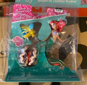 Swimways PVC Disney Mermaid Dive Ariel Characters for Sale in Indianapolis, IN