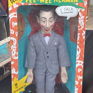 Vintage 1987 Talking Pee Wee Herman Doll-Works Great & Never Removed From The Box!!!!! for Sale in Tampa, FL