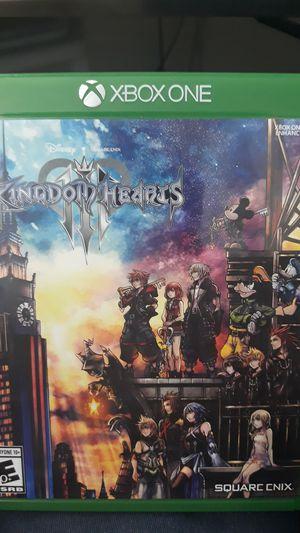 Kingdom hearts 3 xbox 1 for Sale in Redington Beach, FL