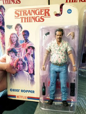 Stranger Things 3 HOPPER Mcfarlane toys action figure for Sale in Los Angeles, CA