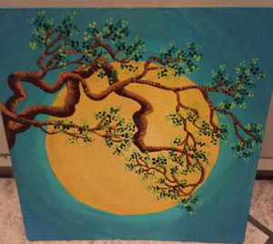 6x6 tree branches painting for Sale in Rancho Cucamonga, CA