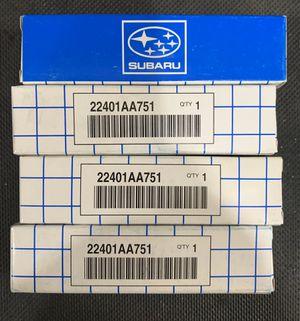 Set of 4 Brand New OEM Subaru Spark Plugs - Part Number 22401AA751 for Sale in San Antonio, TX