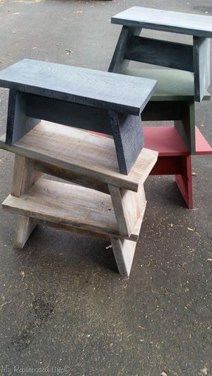 Hand-Made Multi-Use Wooden Stool for Sale in Spring, TX