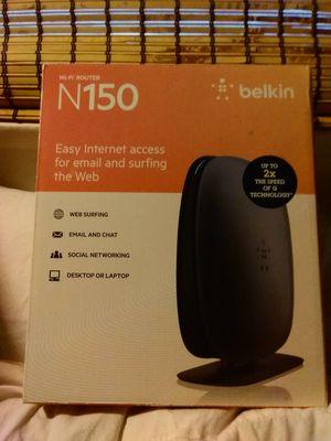 Belkin N150 Wifi Router for Sale in San Pedro, CA