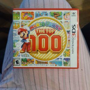 Mario Party Top 100 Nintendo 3DS for Sale in South Amboy, NJ