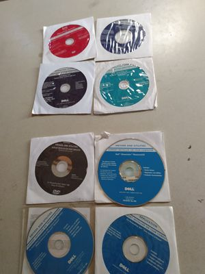Dell operating system and drivers are utilities disks for Sale in Denver, CO