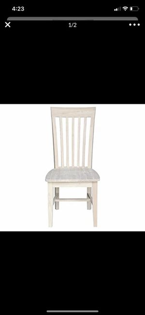 Pair of Tall mission chairs Brand new for Sale in Bakersfield, CA