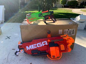 Nerf Guns - set of 2 for Sale in Boca Raton, FL