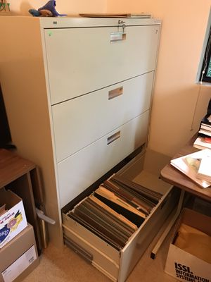 Hon 4 drawer lateral legal file cabinet for Sale in Mercer Island, WA