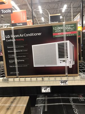 LG 12,000 BTU cool and heat 20 amp Remote Control for Sale in Tampa, FL