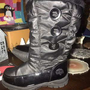 Girls Snow Boots, Totes, Black, Size 12 for Sale in Washington Township, NJ