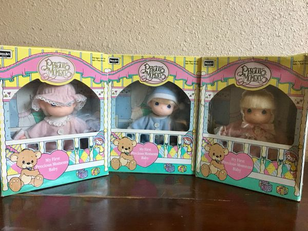 NEW in box. Vintage 1992 Precious Moments Dolls.