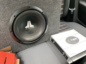 Subwoofer with amp for Sale in Pasadena, MD