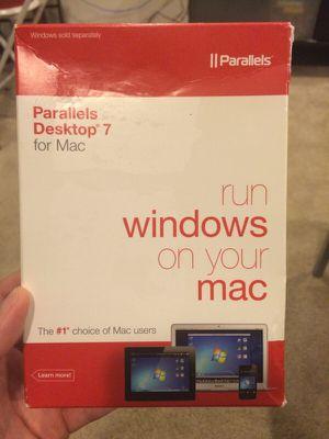 Parallels Desktop 7 for Sale in North Bethesda, MD