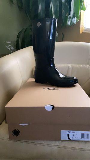 Ugg rain boots size 8 for Sale in La Mirada, CA