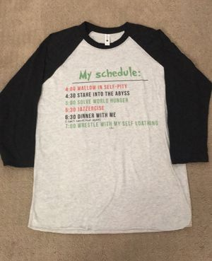 BRAND NEW The Grinch Schedule Baseball Tee for Sale in Laguna Niguel, CA