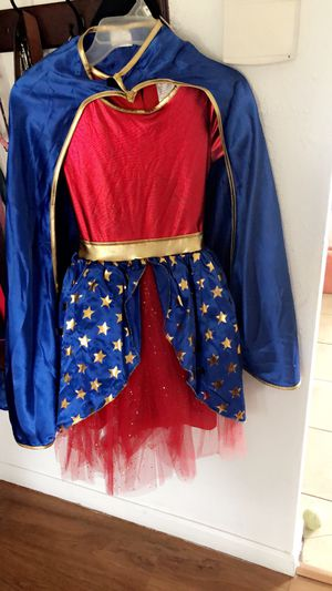Wonder Woman costume (girls) for Sale in Dallas, TX
