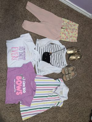 Baby girl clothes size 18/24 months for Sale in Dallas, TX