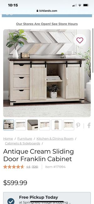 Farmhouse style console table for Sale in Chico, CA