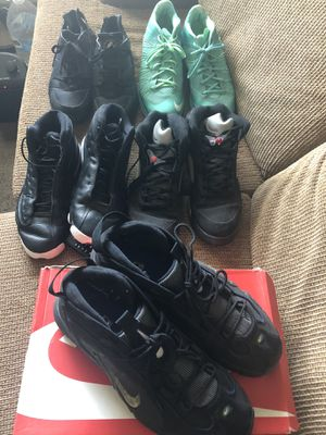 Jordan Nike LeBron sizes 13-14, Take all of them for $50 or $15 each for Sale in Fresno, CA
