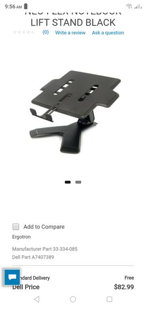 NEO-FLEX NOTEBOOK LIFT STAND BLACK for Sale in Chicago, IL
