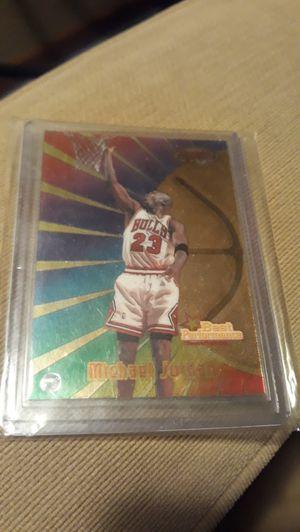 Bulls Michael Jordan Bowman's Best Performance Basketball Card for Sale in Port Orchard, WA