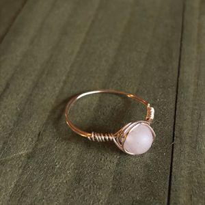 Rose Quartz Ring for Sale in Monroe, CT