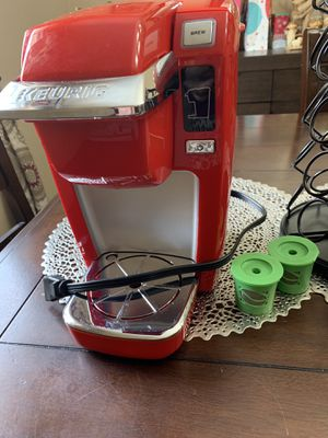 Keurig K10 Mini Plus Brewing System - Red for Sale in Gaithersburg, MD