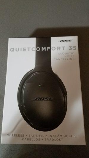 BNIB Bose QC 35 Wireless Headphones for Sale in Alexandria, VA