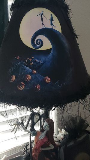 Nightmare before Christmas lamp for Sale in San Antonio, TX