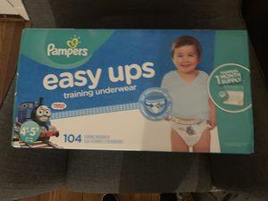 Pampers Training Underwear 4-5t for Sale in Hyattsville, MD