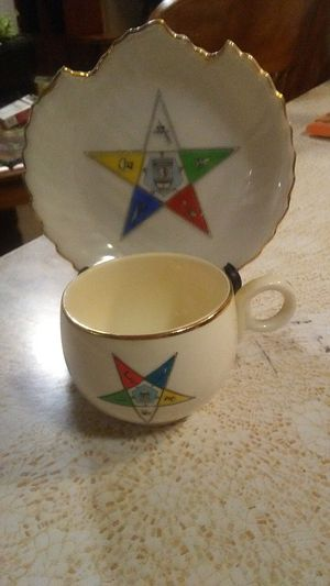 Masonic Order Of Eastern Star Collector China for Sale in Oroville, CA