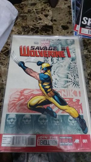 Savage Wolverine #1 #2 for Sale in Los Angeles, CA