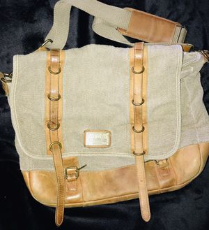 Ted Baker Canvas and Leather Satchel for Sale in Alhambra, CA