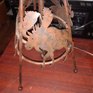 Moose Medal Lamp For Someone Who Enjoys Nature Or Hunting for Sale in Tulalip, WA