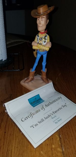 Walt disney classic collection woody toy story ceramic figure im still andys favorate toy for Sale in Scottsdale, AZ