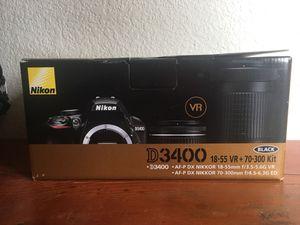 Nikon D3400 camera for Sale in Brighton, CO