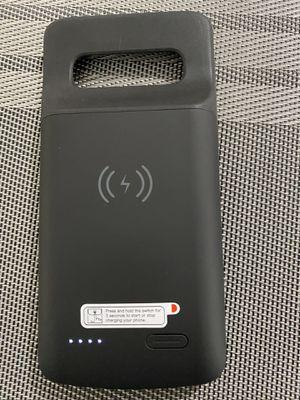 Samsung galaxy S10 battery case wireless for Sale in Carson, CA